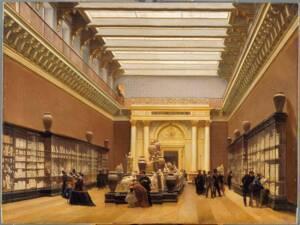 Musée Napoléon III, Salle des terres cuites au Louvre