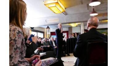 Franck Riester au lancement des Etats généraux des ICC