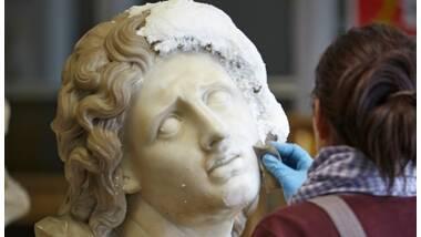 Restauration au musée des beaux-arts de Dijon