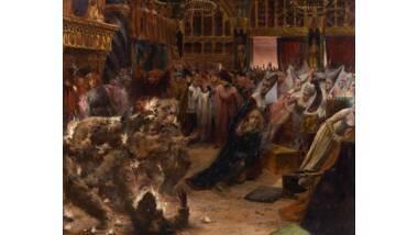 Le Bal des ardents de Georges-Antoine Rochegrosse