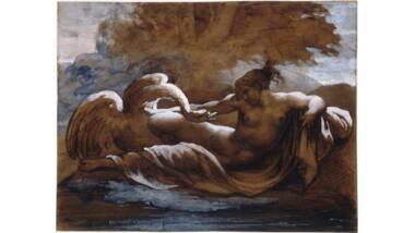 Théodore Géricault - Léda et le cygne - 1816-1817