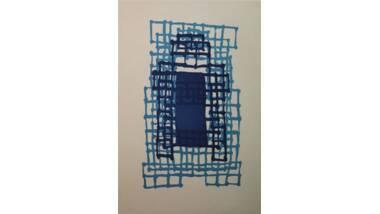 Exposition « La vitrine des musées » : Window - Suzan Hefuna (1962) - Aquatinte au sucre
