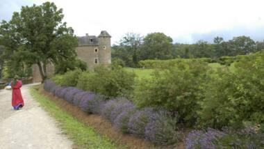 Jardins du château du Colombier, Salles-la-Source