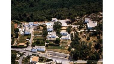 Ecole Freinet - Vence, vue aérienne prise vers l'est