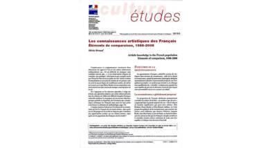 Les connaissances artistiques des Français - Eléménts de comparaison, 1988-2008