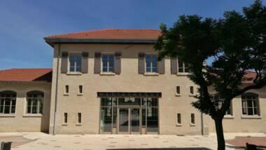 Morancé, réhabilitation de l'ancienne mairie-école en médiathèque