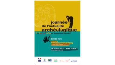Affiche de la Journée archéologique régionale 2015