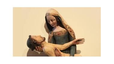 Comar - Pietà Herzog après restauration - détail