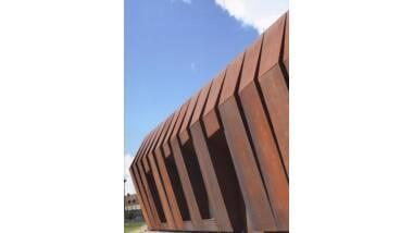 Vue extérieure du Centre de conservation et d'études archéologiques de Soissons