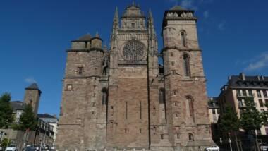 Cathédrale de Rodez, façade occidentale