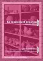 Affiche des Journées d'étude sur le récolement décennal dans les musées nationaux, Saint-Germain-en-Laye, 24-25 novembre 2011