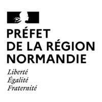 logo préfet de Normandie noir et blanc jpg