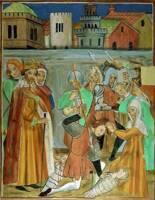 Luceram - Chapelle Notre-Dame de Bon Coeur, le massacre des innocents
