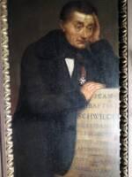 Portrait de Jean-Baptiste Schwilgué par Guérin, 19ème siècle