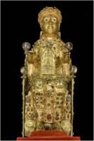Statue reliquaire de Sainte Foy, Conques