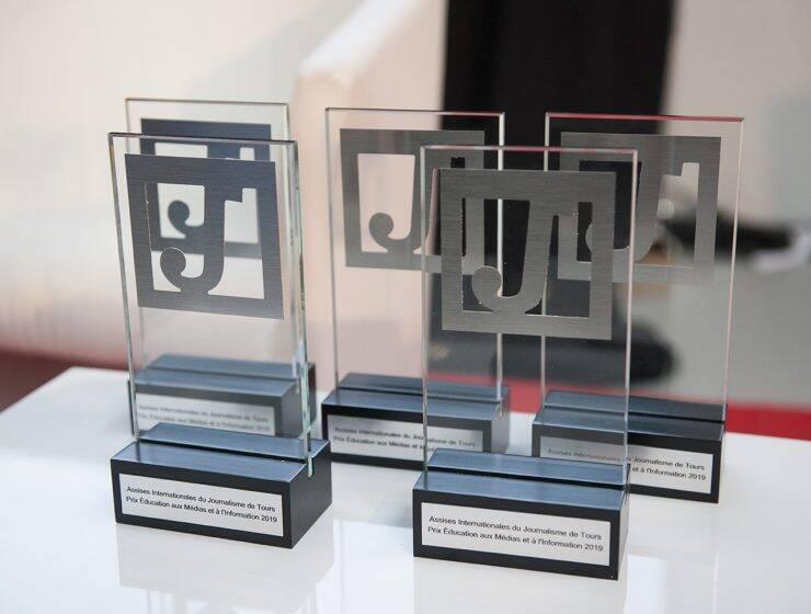 Edition 2020 du prix Education aux médias et à l'information des Assises du journalisme.