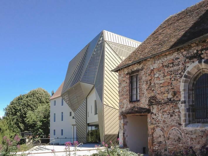 Le Mupop De Montlucon Dialogue Entre Architecture Patrimoniale