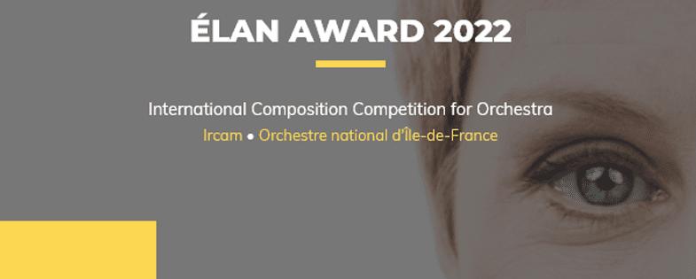 Prix Elan 2022