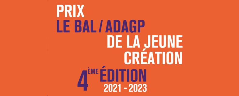 Prix Le Bal /ADAGP de la jeune création 2021-2023