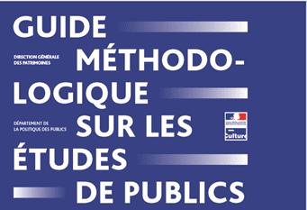 Visuel d'illustration du guide méthodologieu sur les études de publics