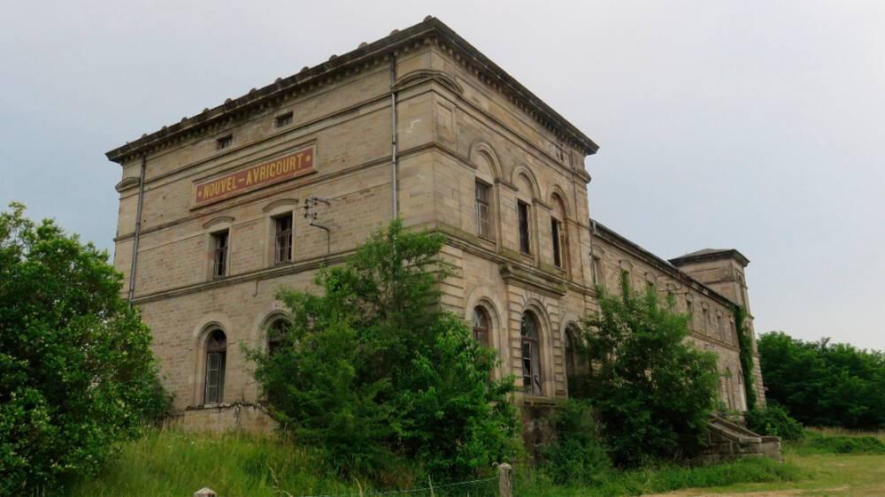 Gare ferroviaire de Nouvel-Avricourt