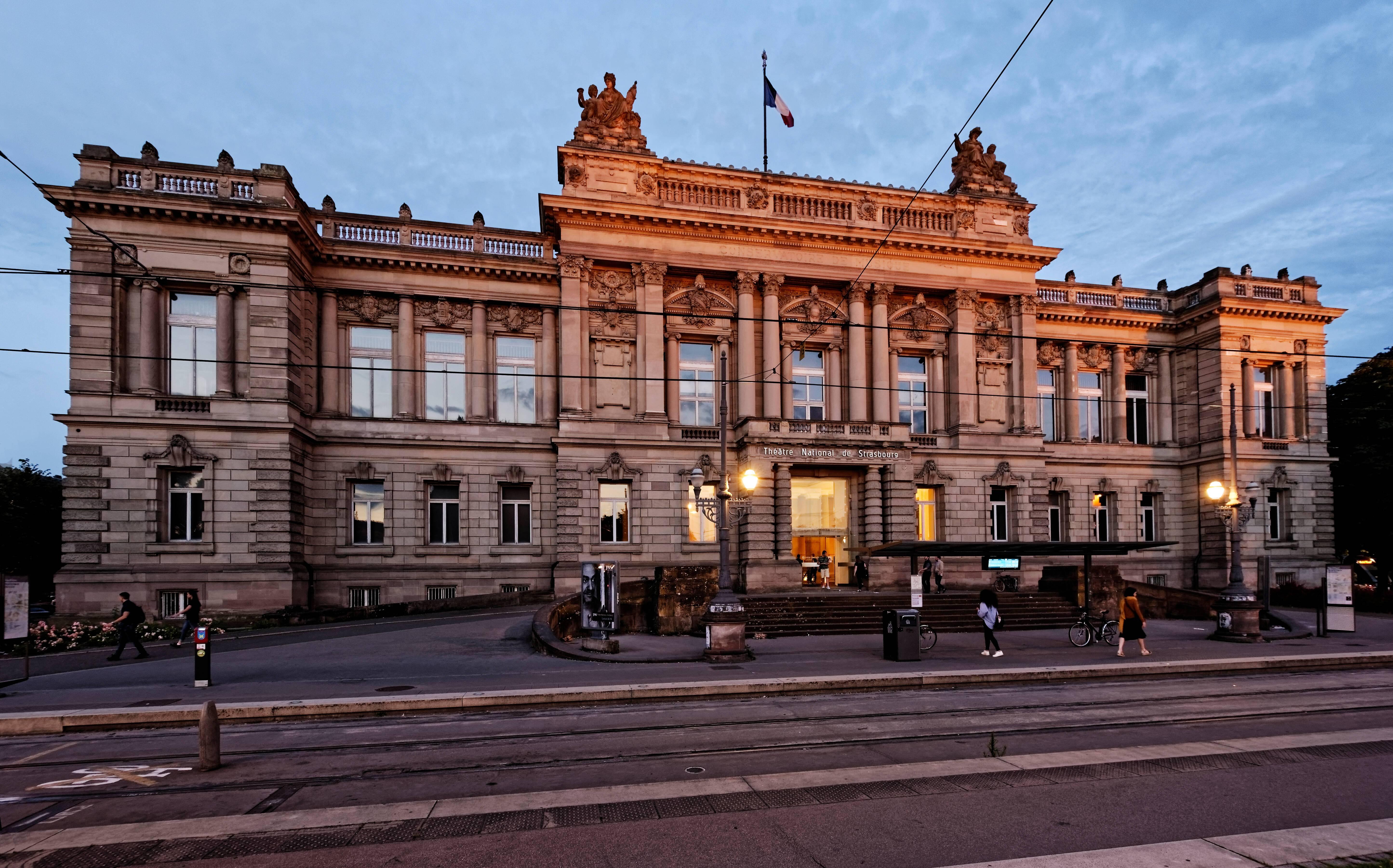 Façade République du Théâtre National de Strasbourg