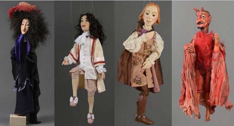 Charleville-Mézières, musée de l'Ardenne, ensembles de marionnettes de la collection Marcel Ledun