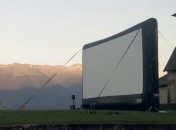 Ecran de cinéma - cinébus