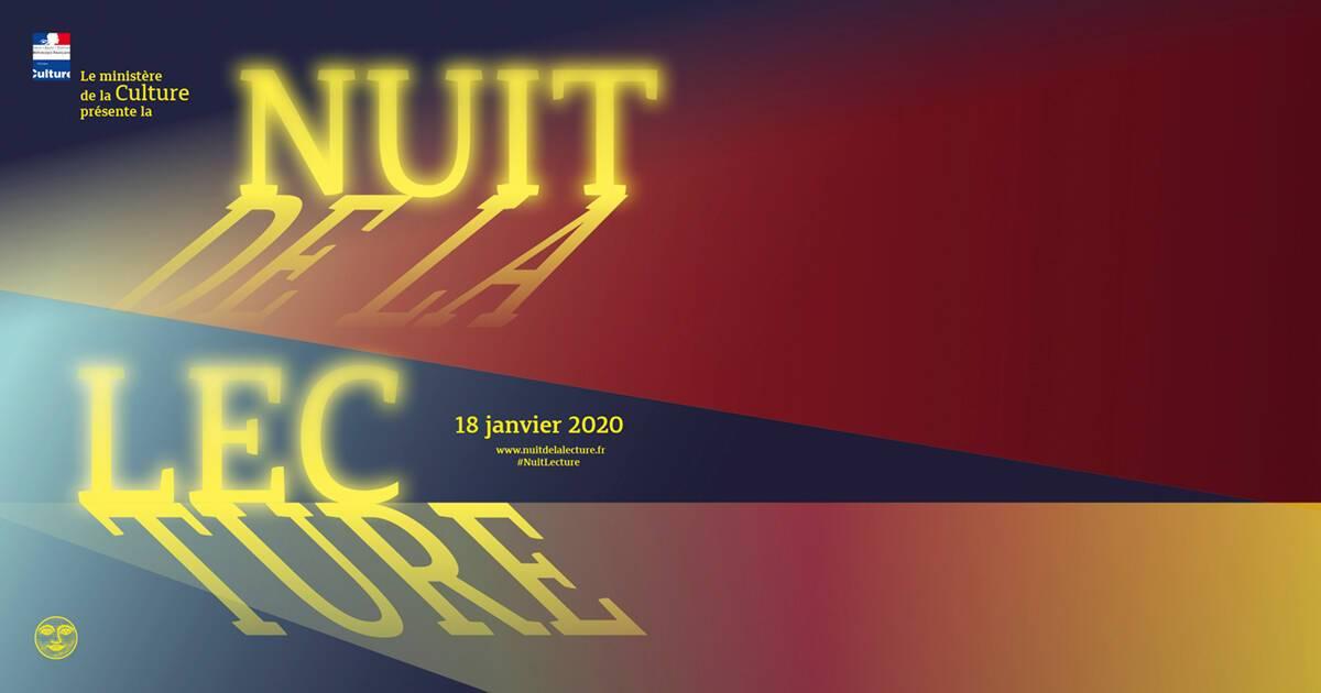 """Résultat de recherche d'images pour """"logo nuit de la lecture 2020"""""""