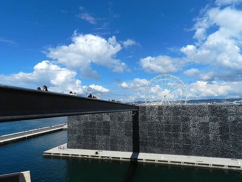 Marseille, MUCEM / Guerinf, source : Wikimedia Commons