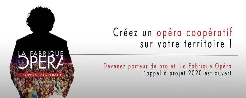 La Fabrique Opéra - Appel à projets 2020