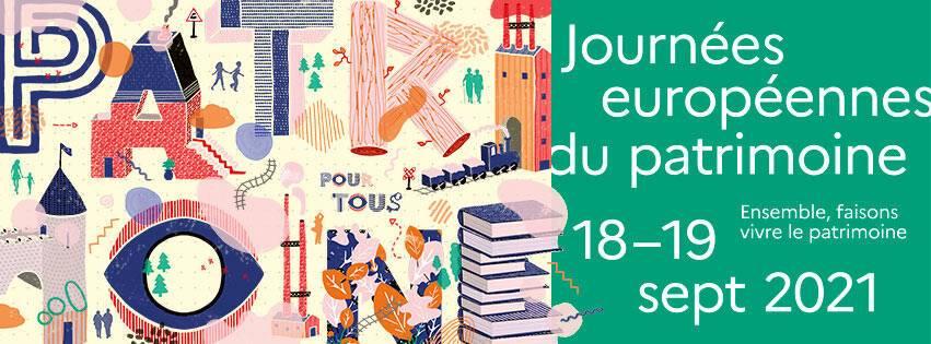 Inscription Journées européennes du patrimoine 2021