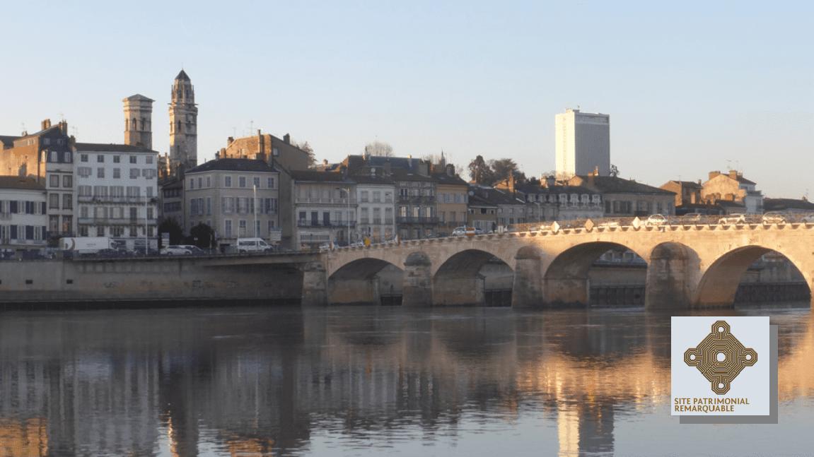 Vue sur la Saône et Mâcon