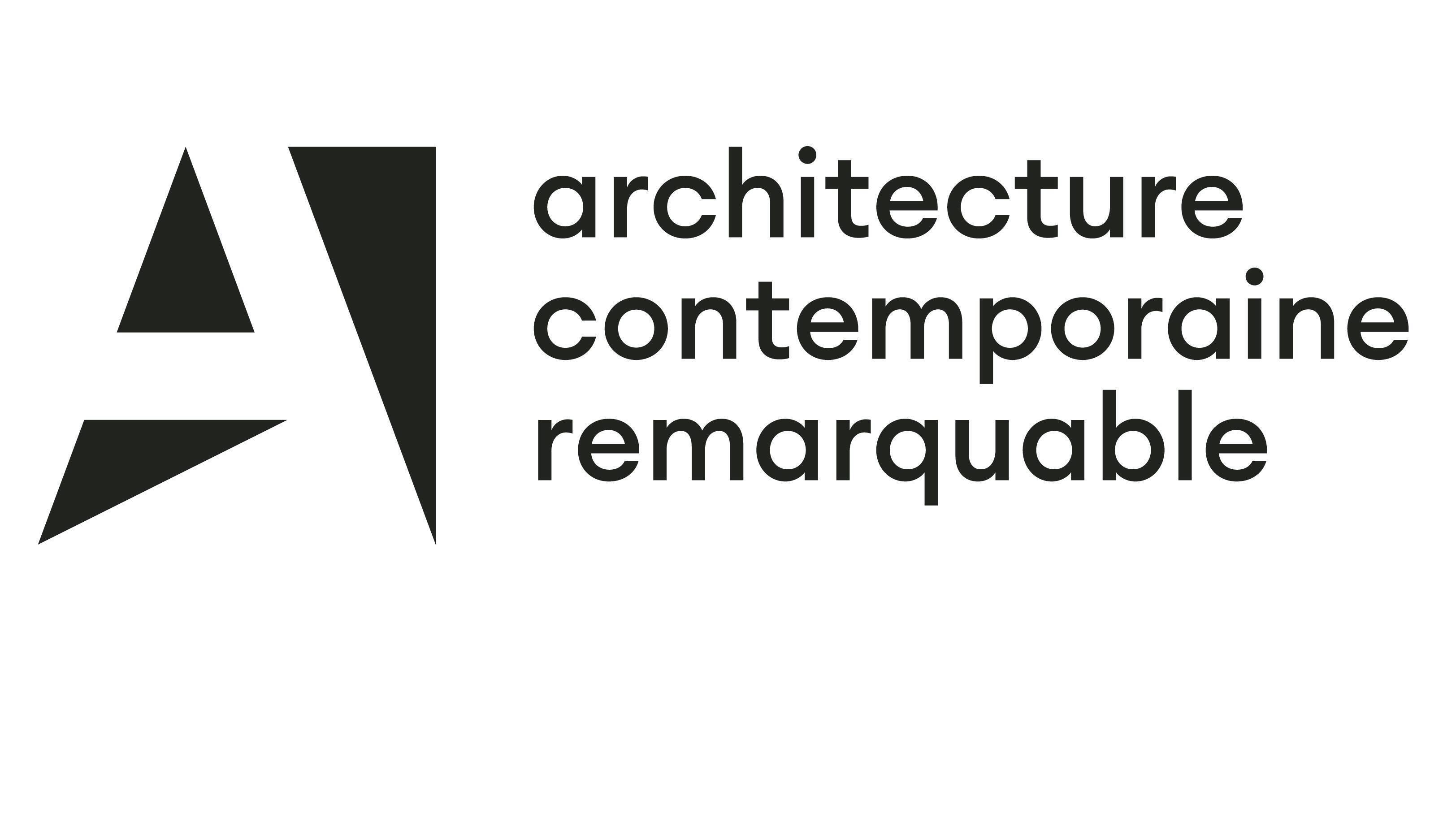 Logo architecture contemporaine remarquable