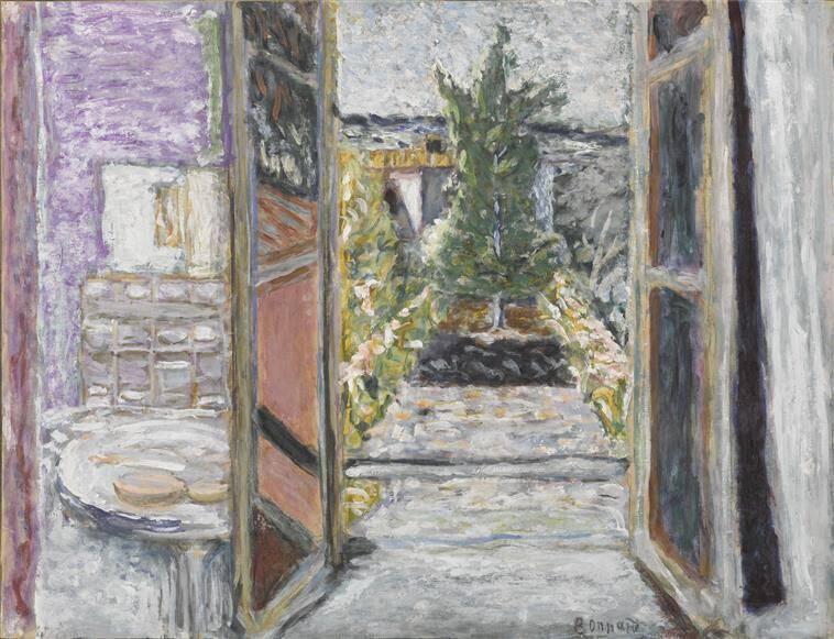 Une oeuvre acquise en 2020 en dation : Bonnard Pierre, Fenêtre ouverte, huile sur toile, Paris, musée d'Orsay, Photo (C) Musée d'Orsay, Dist. RMN-Grand Palais / Patrice Schmidt