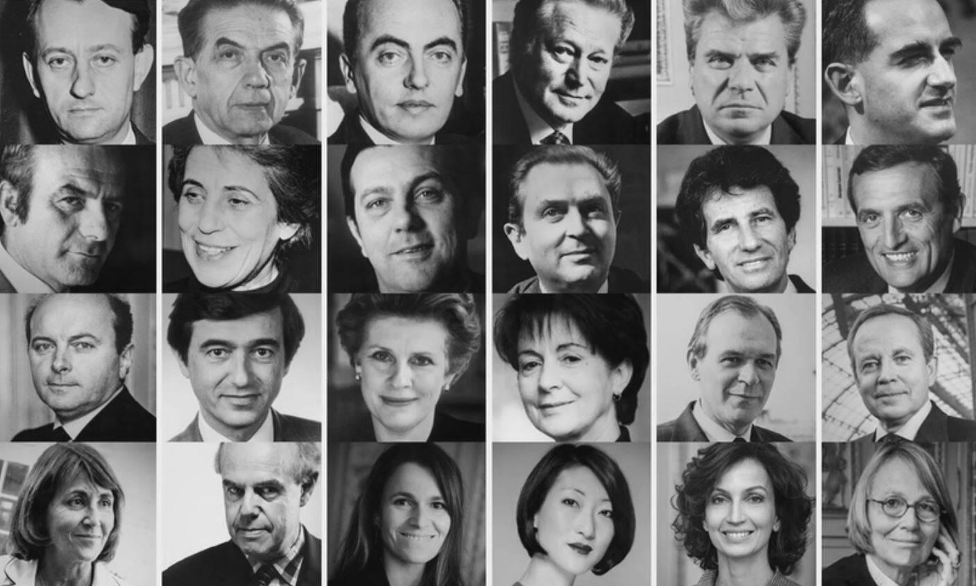 Affiches anciens ministres de la culture 60 ans