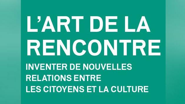 L'art de la rencontre. Colloque 1er mars théâtre d'Aubervilliers. (Logo)