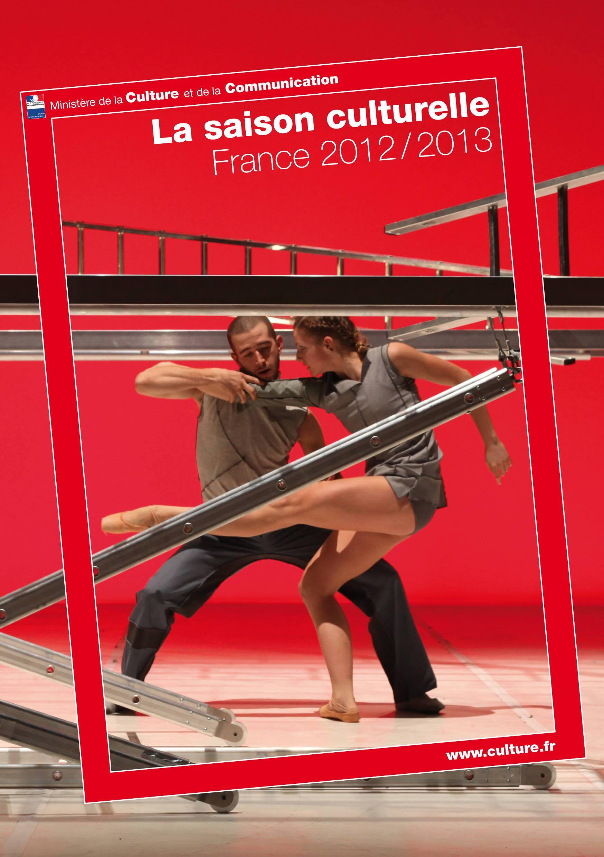 Couverture du guide de la saison culturelle 2012 / 2013