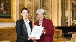 Aurélie Filippetti et Anne Brucy