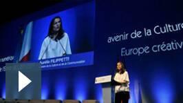 Aurélie Filippetti Forum de Chaillot 4 et 5 avril 2014
