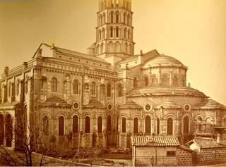 Basilique Saint-Sernin de Toulouse, fin XIXe s.