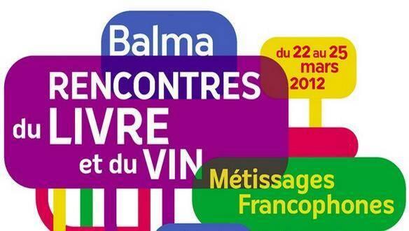 Rencontre du livre et du vin - Edition Balma, 2012