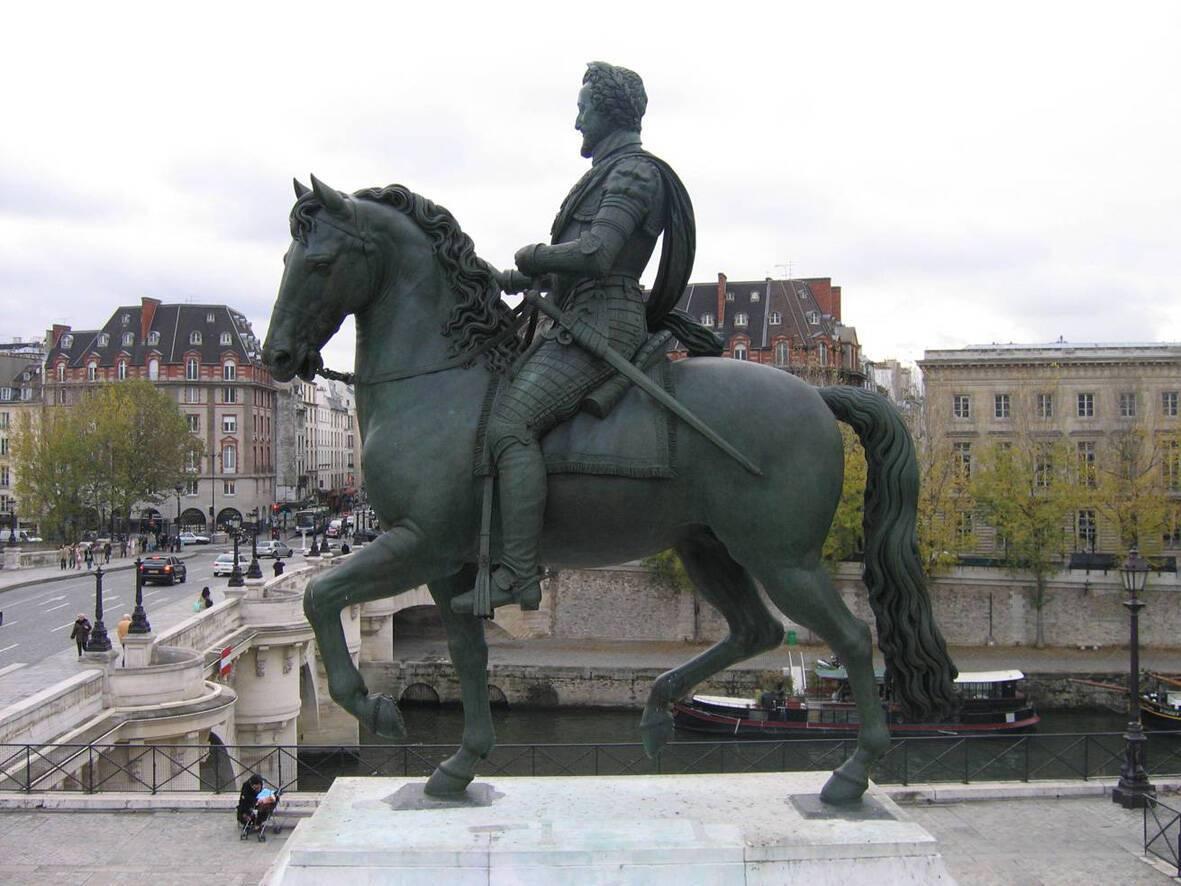 Le cavalier du Pont-neuf