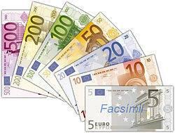 Image de billets de banque en euro