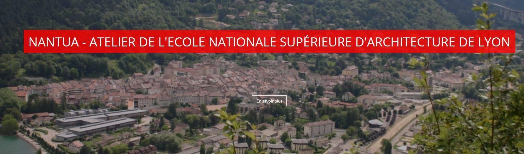 Nantua - projet ENSAL Centre bourg
