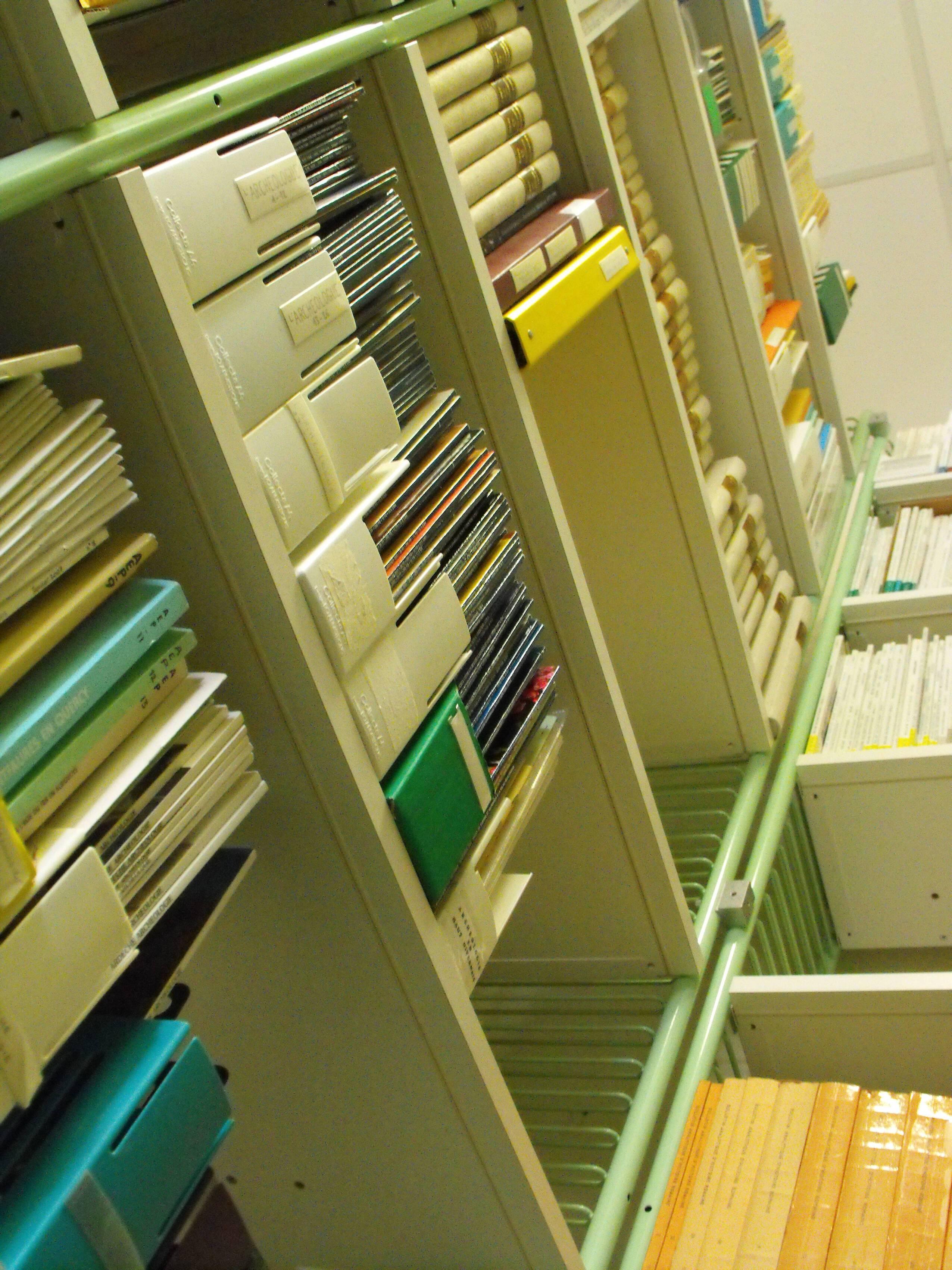 La bibliothèque archéologique