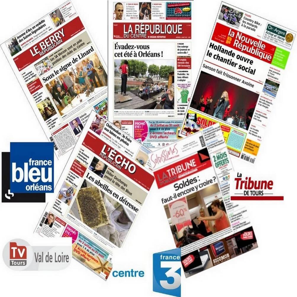 couverture de presse régionale