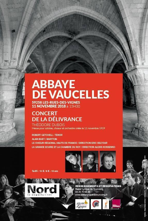 Affiche d'information du concert