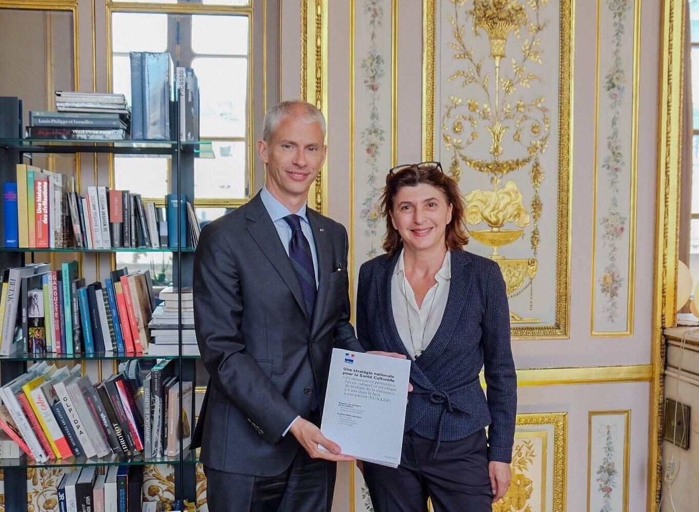Remise du rapport Stratégie Santé culturelle