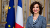 Portrait d'Audrey Azoulay, ministre de la Culture et de la Communication